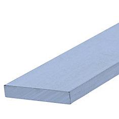 Papc 1/8x1x4 Flat Aluminum
