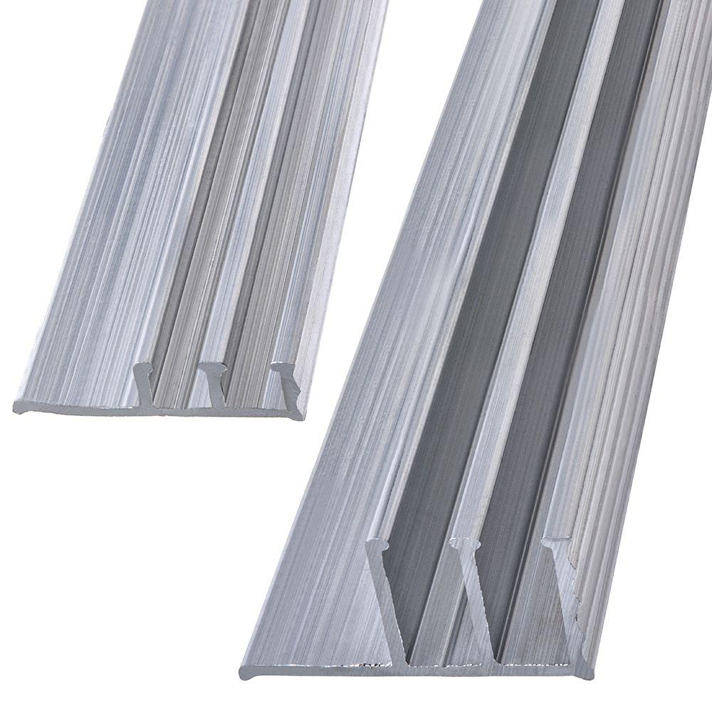 1/2x4 Jeu De Rail Aluminium