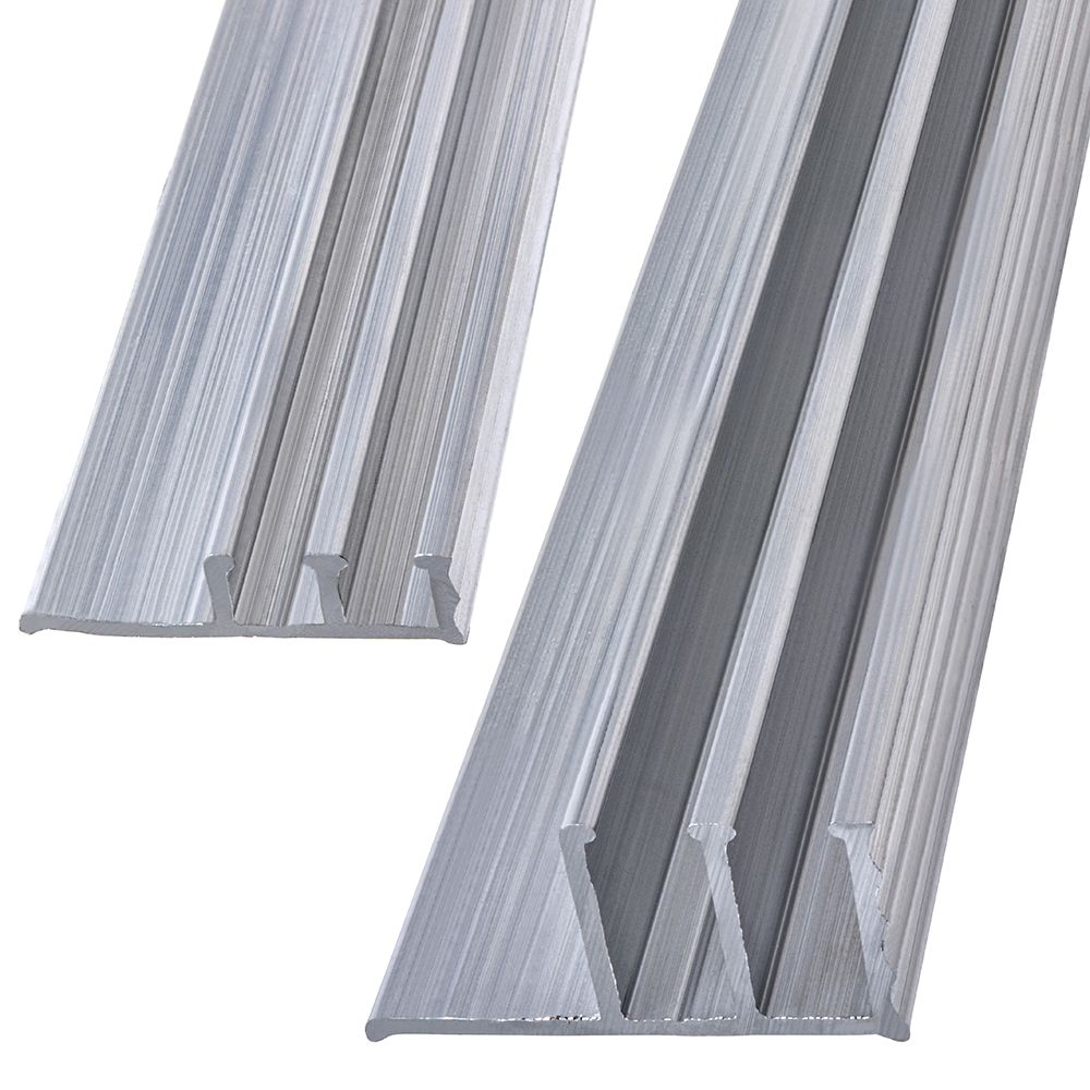 Papc 1/2x4 Aluminum Track Set