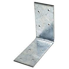 3-inch x 3-inch x 1 1/2-inch 12-Gauge 90-Degree Angle Tie