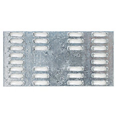 MP 2 inch x 4 inch 20-Gauge Galvanized Mending Plate