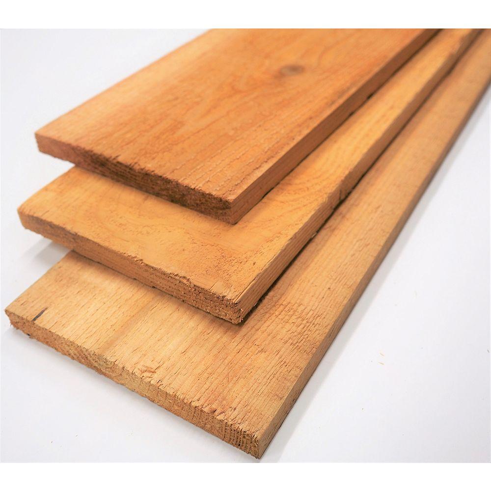 Porcupine 1-inch x 8-inch (Nominal) x 8 ft. #2 Cedar Board