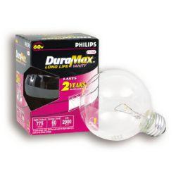 Duramax Lampe Globe DuraMax incandescente medium claire G25 60 W
