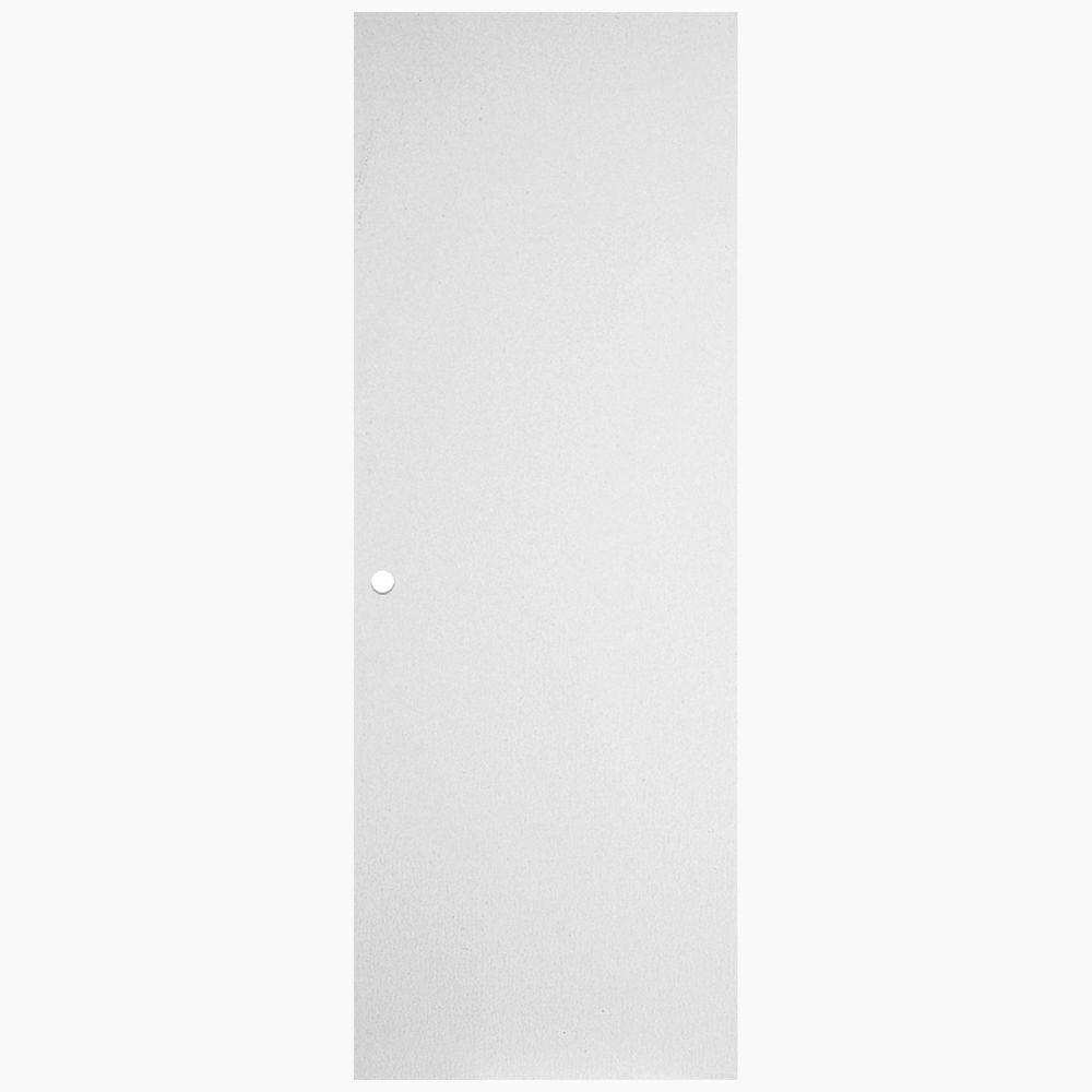 31 3/4-inch x 79-inch Primed Hardboard Righthand Door