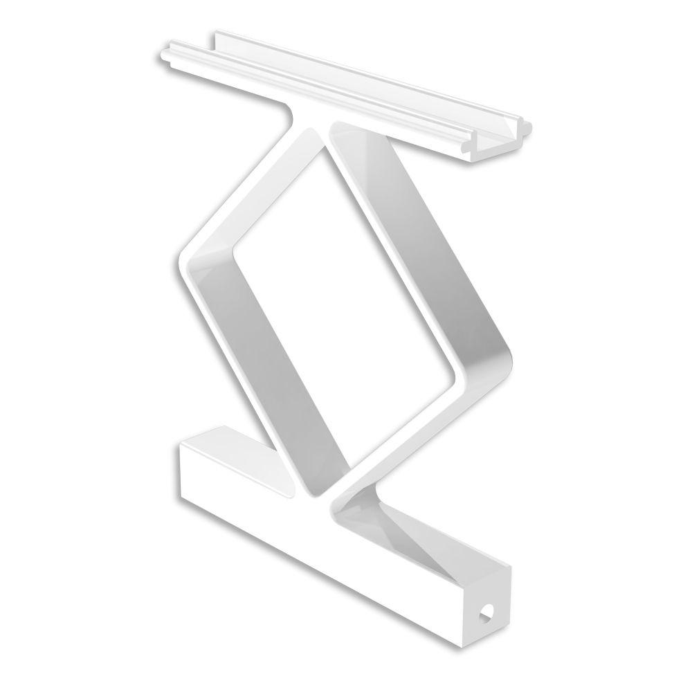 RailBlazers Décor Handrail Spacers, 4 Pack - White