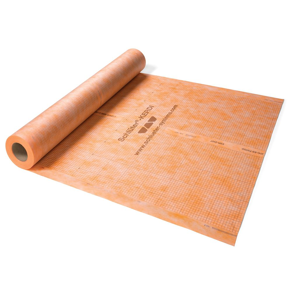 Kerdi 3 ft. 3 in. x 16 ft. 5 in. Waterproofing Membrane (54 Sq. Ft. / Roll)