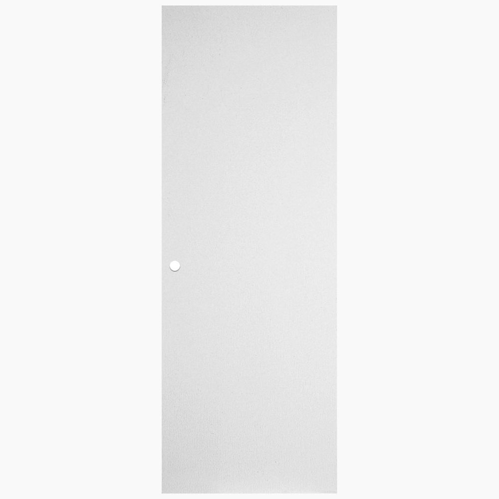 33 3/4-inch x 79-inch Primed Hardboard Righthand Door