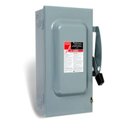 Schneider Electric 100 Amp General Purpose Double Pole Safety Switch