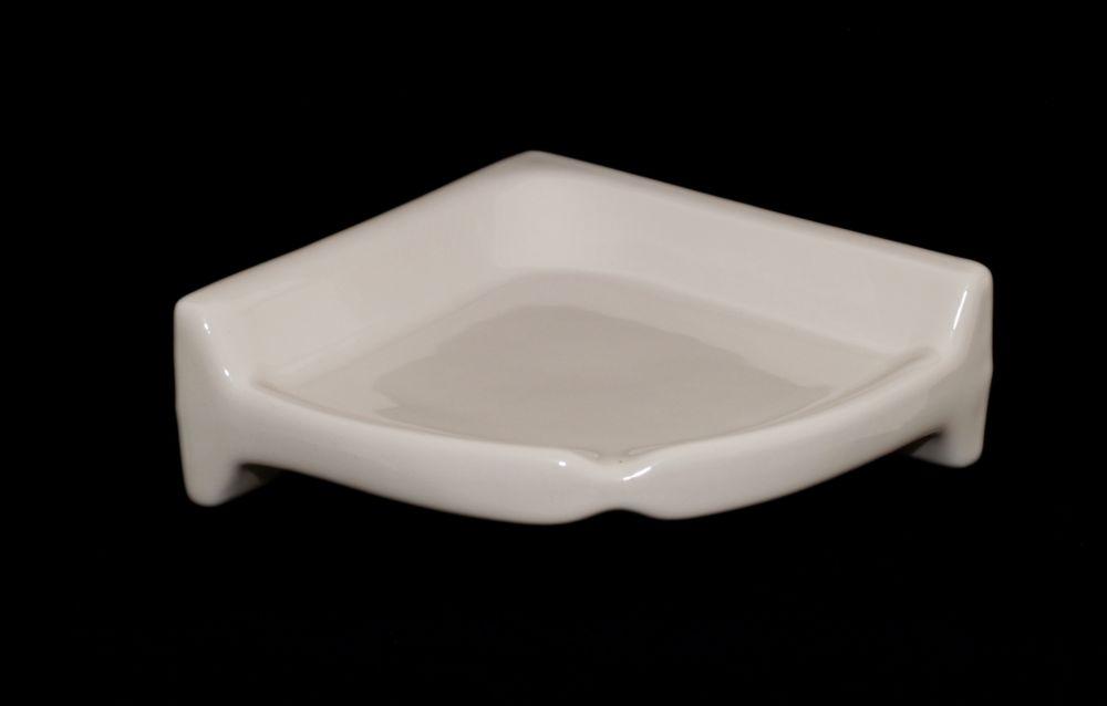Almond Corner Shelf Bath Accessories