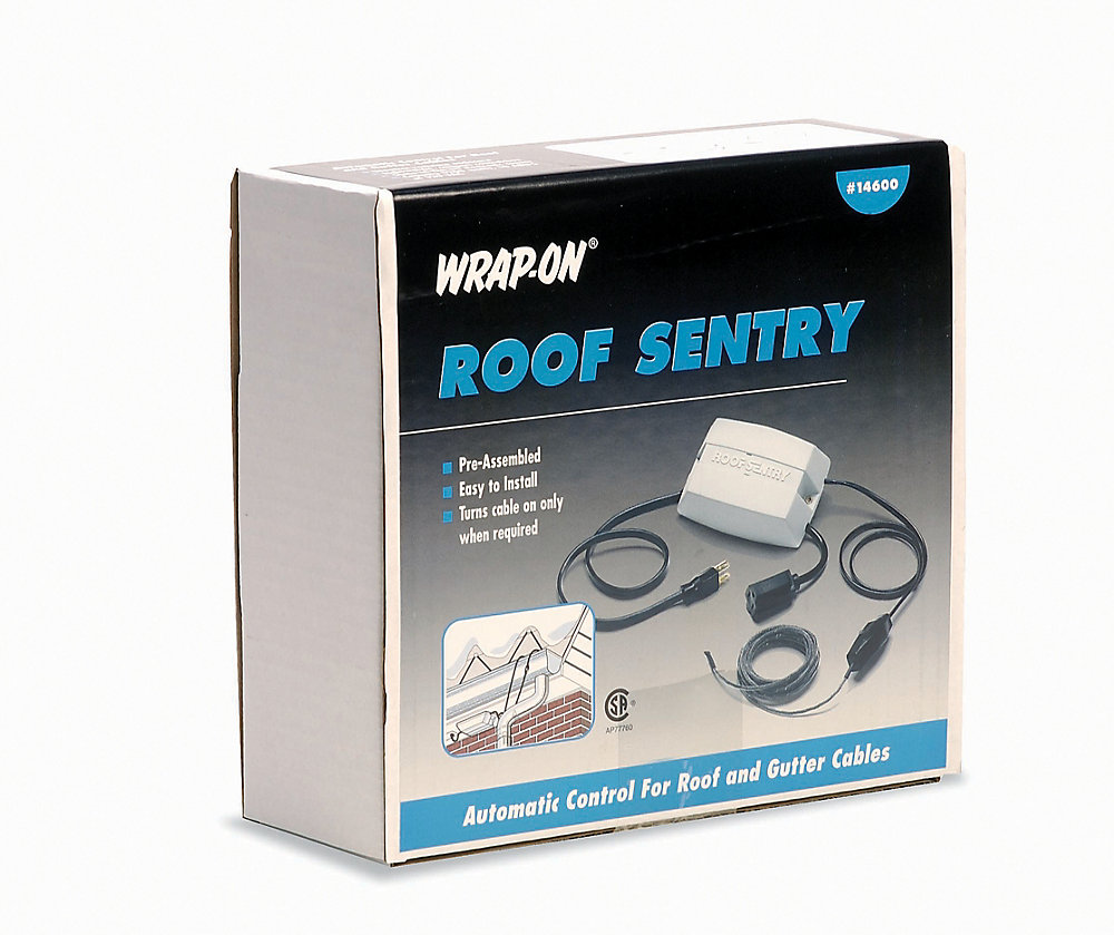 Roof Guard Roof Sentry De Icing Cable Control The Home