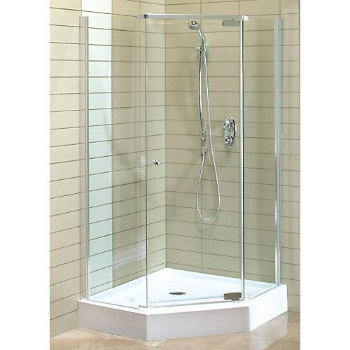 Maax Magnolia 38 Inch X 38 Inch X 77 Inch Acrylic Shower Stall