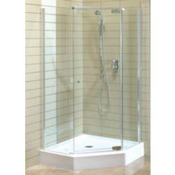MAAX Magnolia 38-inch x 38-inch x 77-inch Acrylic Shower Stall