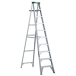 Featherlite Aluminum step ladder 10 Feet  grade II