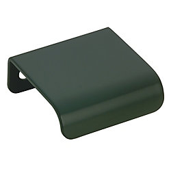 Richelieu Contemporary Metal Pull - Matte Black - 1 in C. to C.