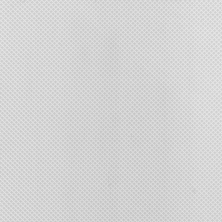 Simple Elegance Non Adhesive Shelf Liner - White Diamonds - 60 Inches x 12 Inches