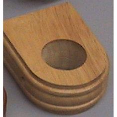 Wood Ceiling Brackets - Oak (Pair)