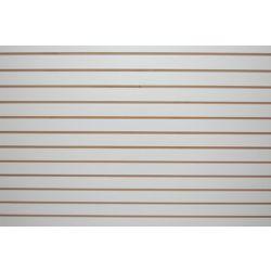Goodfellow Slotwall 3/4-inch 4 x 8 White Melamine finish
