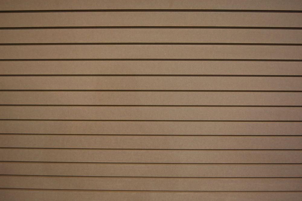 Slotwall 3/4 Inch  4 x 8 Paint Grade Finish