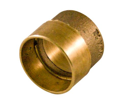 Aqua-Dynamic Fitting Cast Brass Bushing 1-1/2-inch x 1-1/4-inch Drain, Waste & Vent