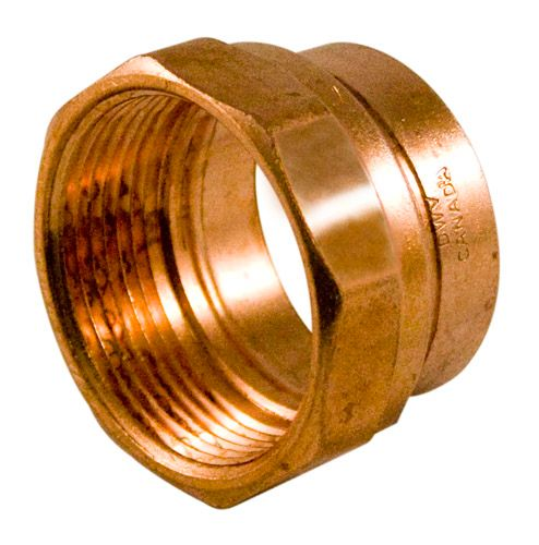 Aqua dynamic transition coupling inch abs to copper