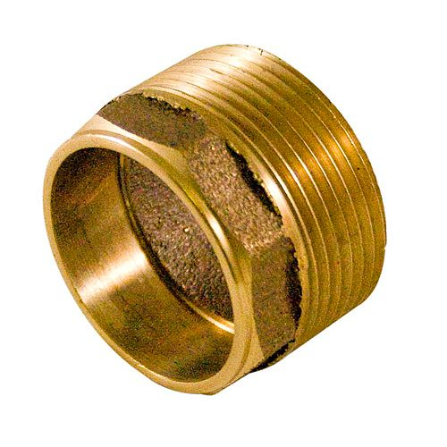 Aqua-Dynamic Fitting Cast Brass Male Adapter 1-1/2 Inch Drain, Waste & Vent