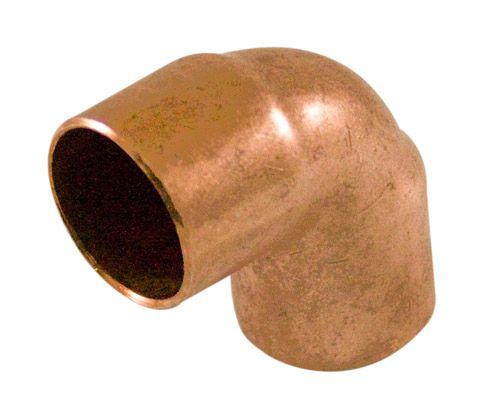 Fitting Copper 90 Degree Elbow 1 Inch Copper To Copper