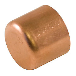 Aqua-Dynamic Fitting Copper Tube Cap 1 Inch