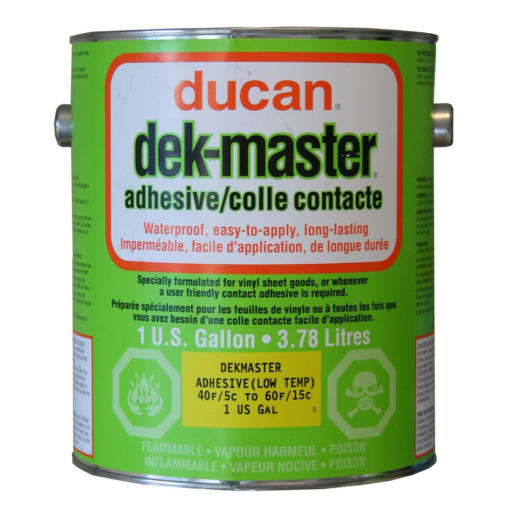 dek-master Low Temp Adhesive is a user friendly slow drying adhesive used for the cusp seasons of...