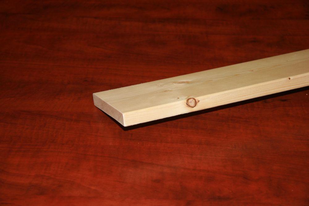 Planche dépinette S4S 1 po x 6 po x 6 pi