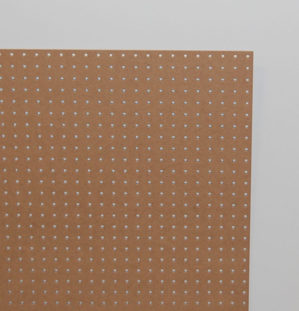 1/4 Inch  2 Feet x 4 Feet Pegboard Handy Panel