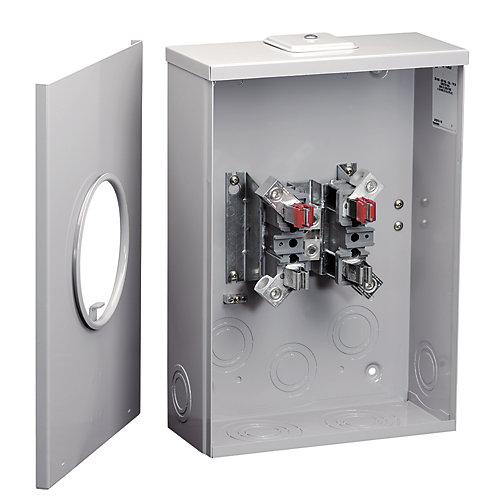 200A Combo Oversize Meter Socket