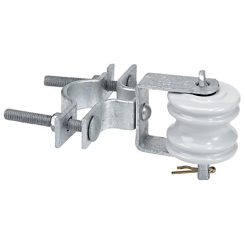 Support Isolateur-Poulie 100a 1-1/4