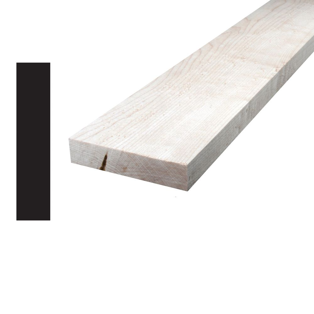 Maple S4S 1x4x8 Feet