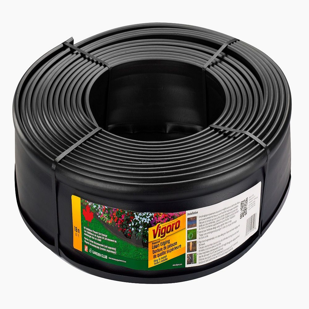 Vigoro 60 Ft Lawn Edging