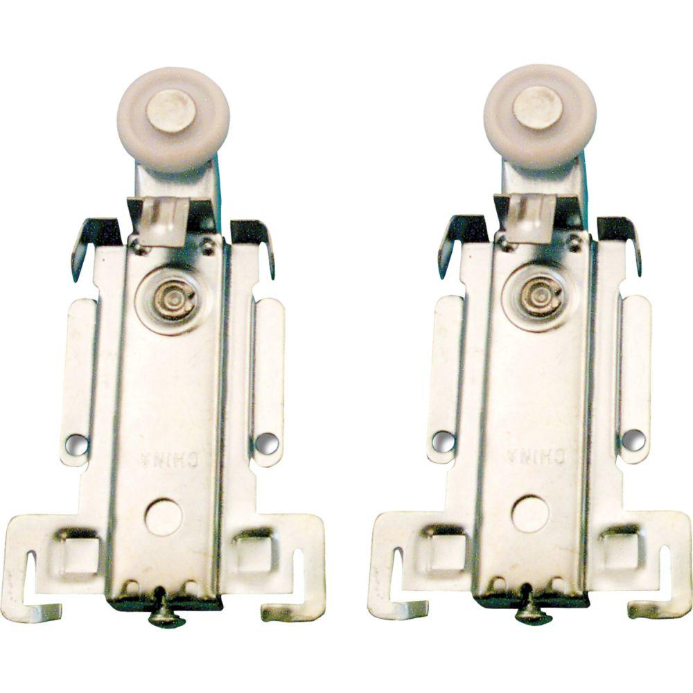 Prime line roulette suspension sup rieure pour porte de - Roulette de porte de placard ...