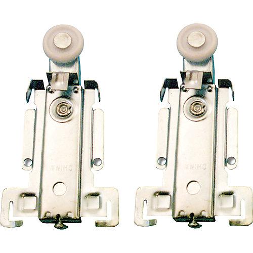 prime-line roulette à suspension supérieure pour porte de placard ... - Roulette Pour Porte Coulissante De Placard