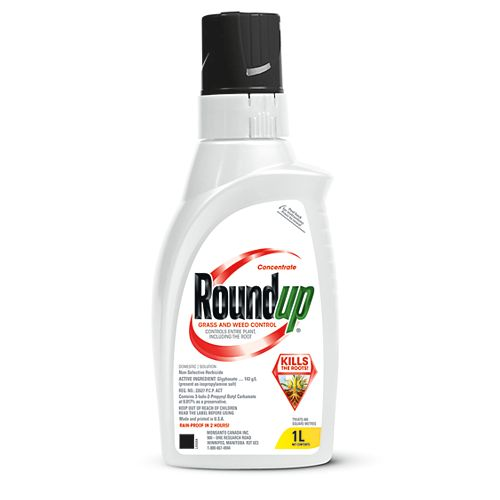Roundup Grass and Weed Control 1 L Concentrate