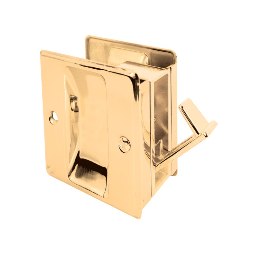 Solid Brass Pocket Door Passage Pull