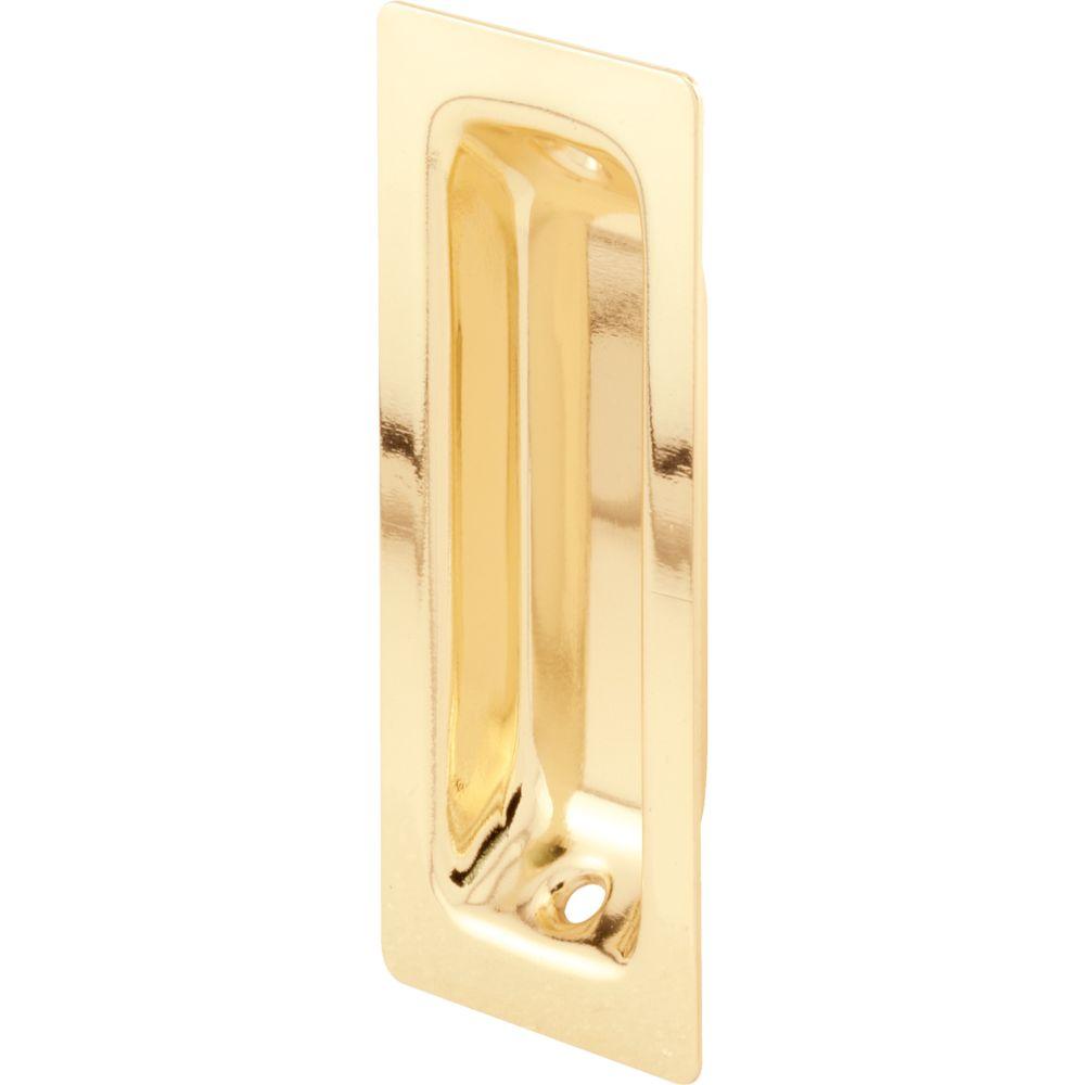 Steel Oblong Closet Door Pull