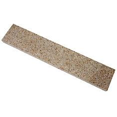 20-inch Granite Side Splash in Beige