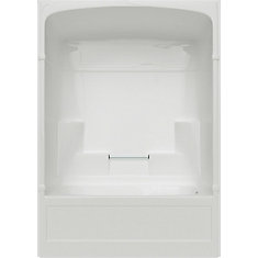Empire 60 Inch 3 Piece Acrylic Tub And Shower Right Hand