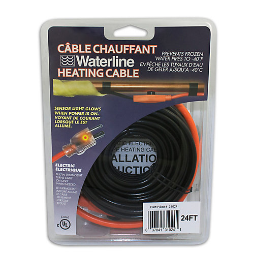 24 ft. Pipe Heating Cable