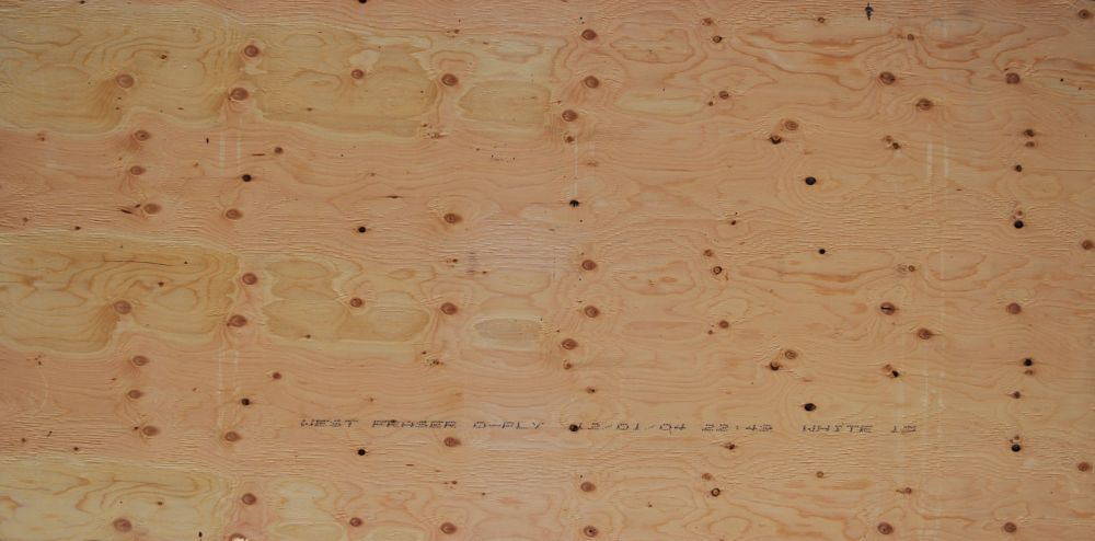 5/8 inches 4 ftx8 ft Standard Fir Plywood Tongue & Groove