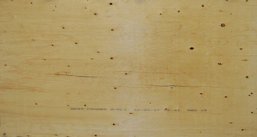 "5/8"" 4'x8' Standard contreplaqué Spruce"
