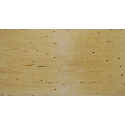 "1/2"" 4'x8' Standard contreplaqué Spruce"
