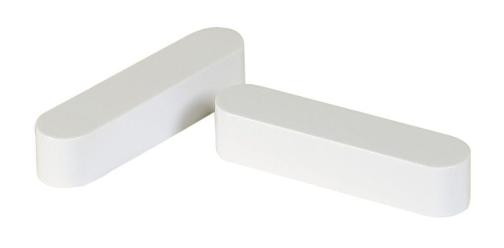 Rod Spacer End Cap (Bag Of 2) For Wardrobe Shelves
