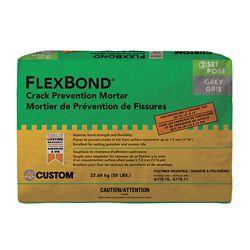 Custom Building Products FlexBond - Mortier à pose simplifiée enrichi 22,7 kg gris