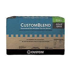 CustomBlend Standard Thin-Set Mortar Gray - 50 lb