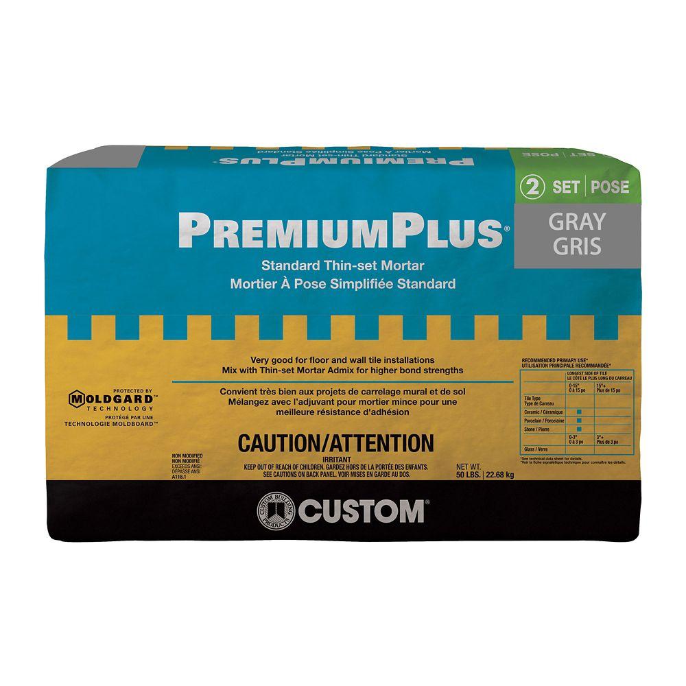 PremiumPlus Thin-Set Mortar Gray - 50lb CPTSG50 Canada Discount