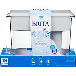 Brita Système de filtration en distributeur Brita®, blanc, 18 tasses (modèle UltraMax)